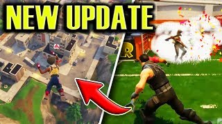 NEW UPDATE Patch Notes! New Locations, Fortnite Soccer, Biomes (Fortnite Battle Royale)