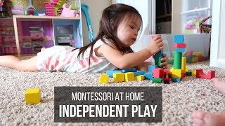 Montessori At Home: Independent Play