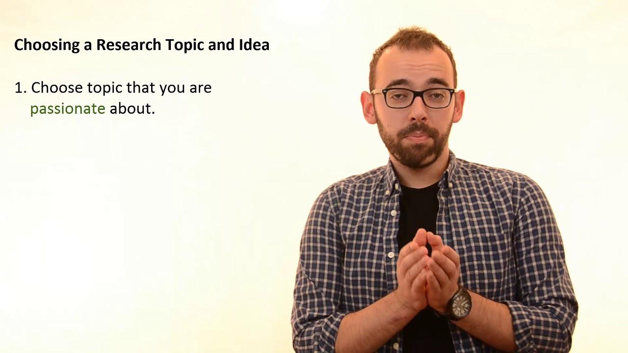 research topic idea