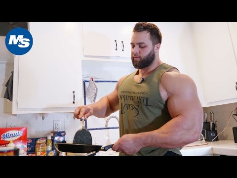 What Bodybuilders Eat for Lunch | Regan Grimes says