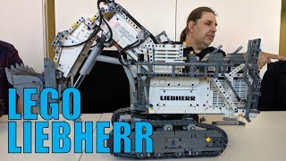 LEGO Technic Liebherr R 9800 42100 & 4×4 X-Treme Off-Roader 42099: Control+ Presentation!