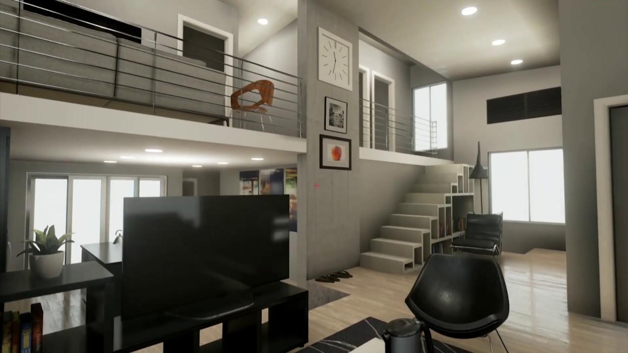 residential interior design unreal engine 4 youtube