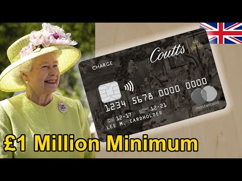 Is This The UK's Most Exclusive Credit Card? Coutts Silk Card