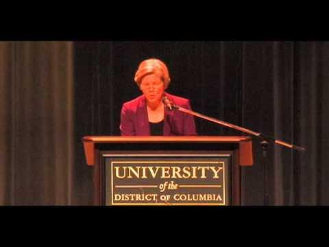 21st Joseph L. Rauh, Jr. Lecture: Sen. Elizabeth Warren
