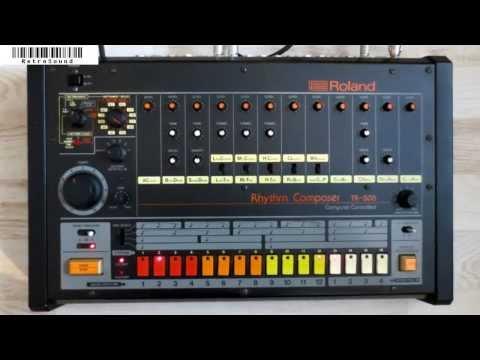 Roland TR-808 (1982) - Famous Drum Beats - no TR-08!