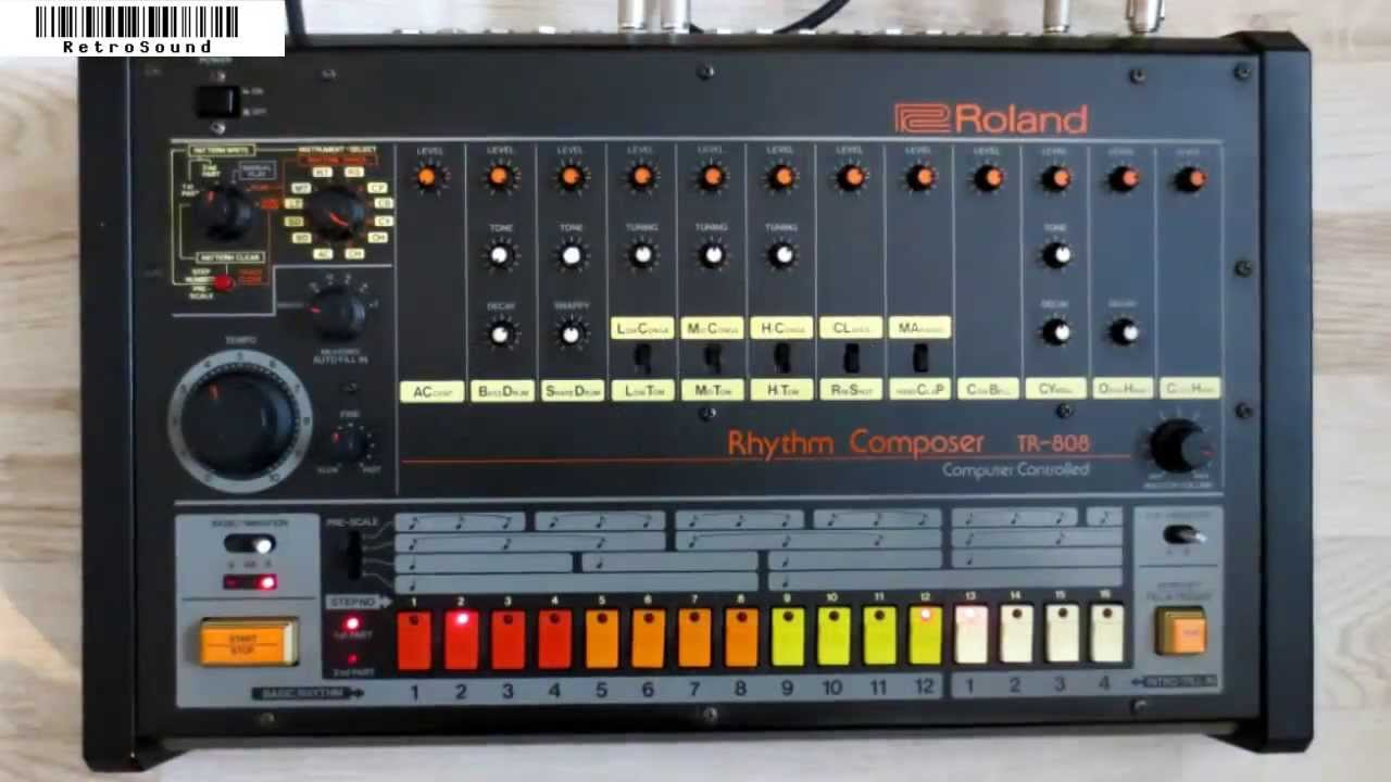 How the Roland TR-808 revolutionized music - The Verge