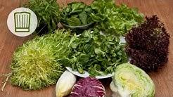 Salat ABC - Alles über Salate - Rucola, Feldsalat, Kopfsalat und Eisbergsalat #chefkoch