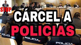 SE HACE JUSTICIA. CÁRCEL A DOS POLICÍAS POR ENTRAR EN UNA VIVIENDA sin permiso.