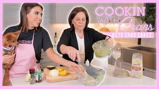 THE BEST KETO CRAB CAKES! | COOKIN WITH CRANS