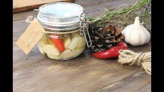 Маринованный чеснок на зиму (Рецепт маринада)