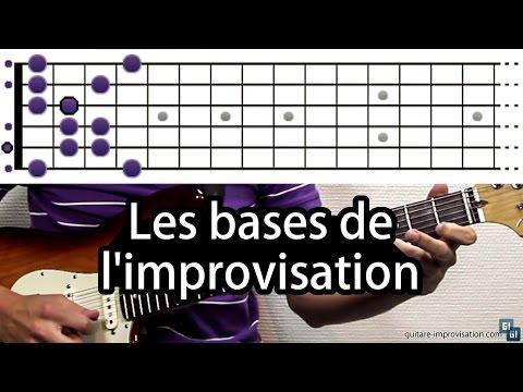 Improviser à la guitare : les bases de l'improvisation