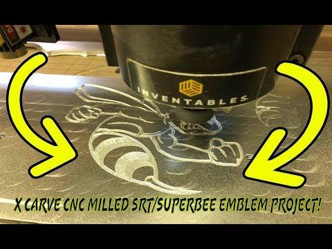 X Carve CNC milled srt/superbee emblem project!