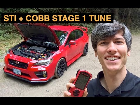 2015 Subaru WRX STI + COBB Stage 1 Tune - Review