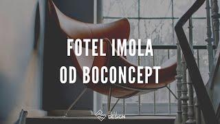 Fotel Imola od BoConcept - ikona designu