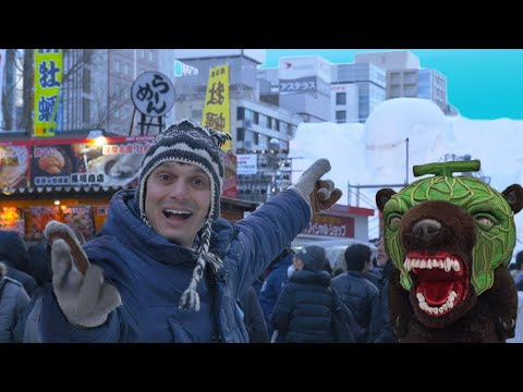Sapporo Snow Festival Experience ★ ONLY in JAPAN #45 札幌雪祭り!