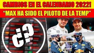 ¡¡ANUNCIO OFICIAL!! MUCHOS CAMBIOS!! la F1 PRESENTA CALENDARIO para 2022