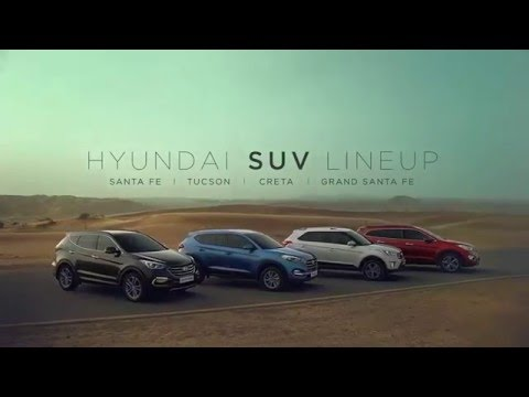 Hyundai Suv Lineup Santa Fe Tucson Creta Grand