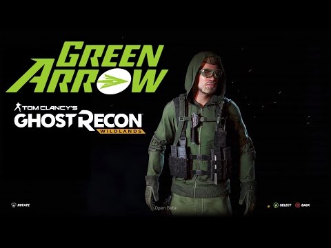 Ghost Recon Wildlands - How To Create a Green Arrow Custom Character