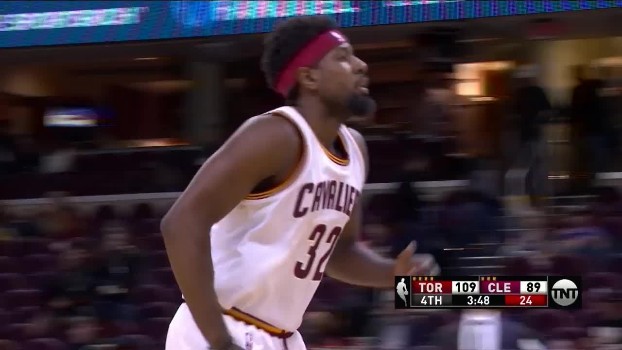 4f1b9d046 John Holland 2016 NBA Preseason Highlights w  Cavaliers - YouTube
