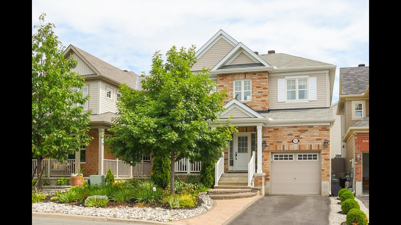 103 Forest Water Way, Ottawa Ontario, K2J 3V3