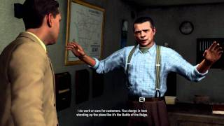 L.A Noire PC Directx 11 Gameplay GTX 560 Ti  SLI Maxed Out