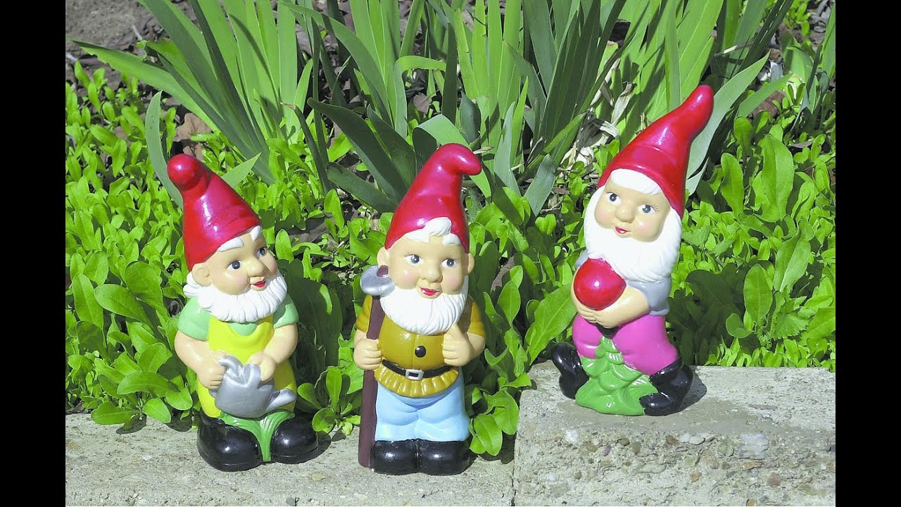 Garden Gnomes   YouTube