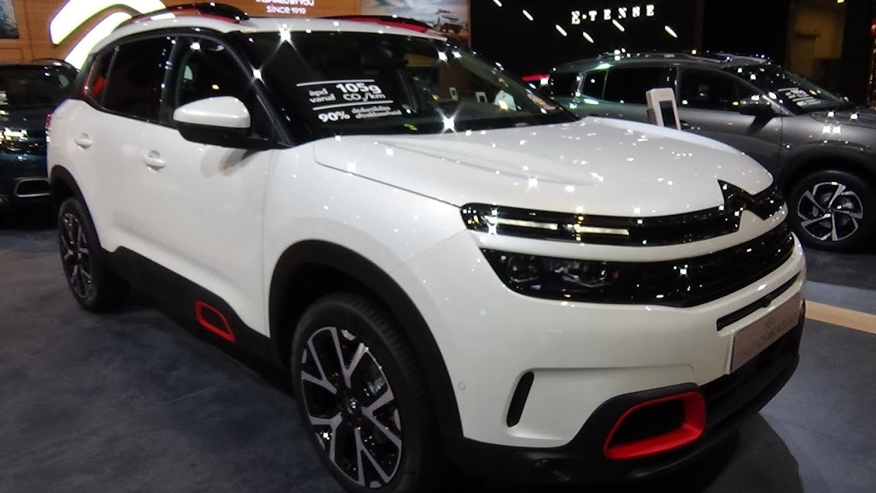 2019 citroen c5 aircross 1 6 puretech 180 shine exterior and interior auto show brussels. Black Bedroom Furniture Sets. Home Design Ideas