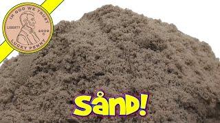 Brookstone Play Sand - Pack It, Pull It, Shape It, Love It