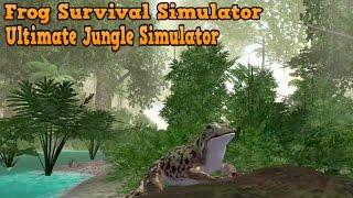 🐸👍Frog Survival Simulator-Симулятор лягушек-Ultimate Jungle Simulator- By  Gluten Free Games