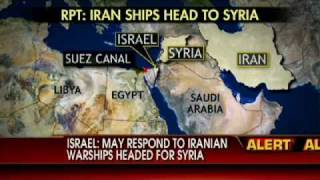 Israel: May Respond to Iranian Warships Headed for Syria