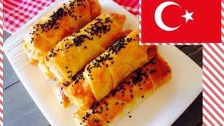 ТУРЕЦКАЯ КУХНЯ : Пирожки с фаршем ( Kıymalı börek ) / Пирожки с картошкой ( patatesli börek )