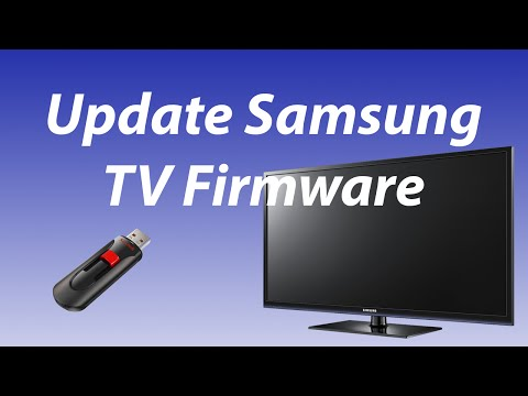 How To Upgrade Software Version On A Samsung TV (Non-Smart-TV)