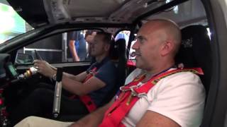 Greg Murphy V8 champ puts Gforce race car simulator to the test.