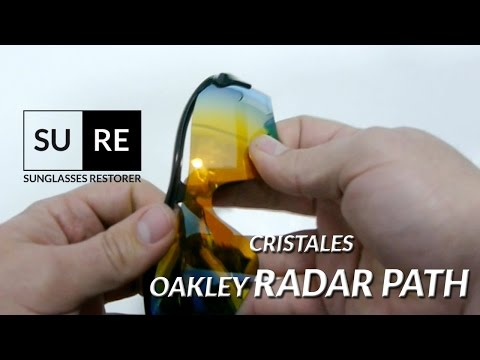 bcaeeeebf5 Lentes Oakley Radar Path – Como cambiar los cristales - YouTube