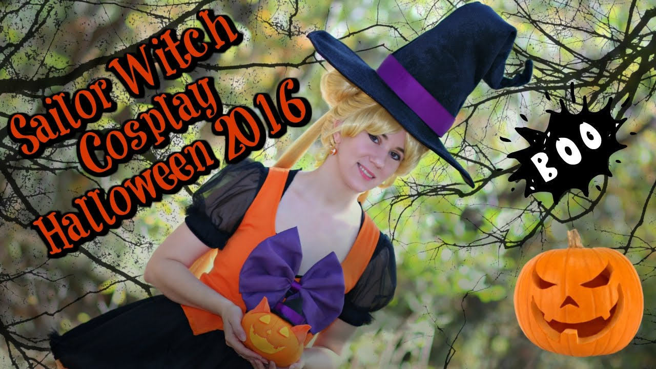sailor witch cosplay halloween 2016 sailor moon crystal