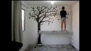 Pintura em parede – Árvore