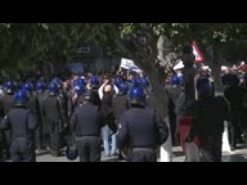 Protests over Algerian president's bid for 5th term
