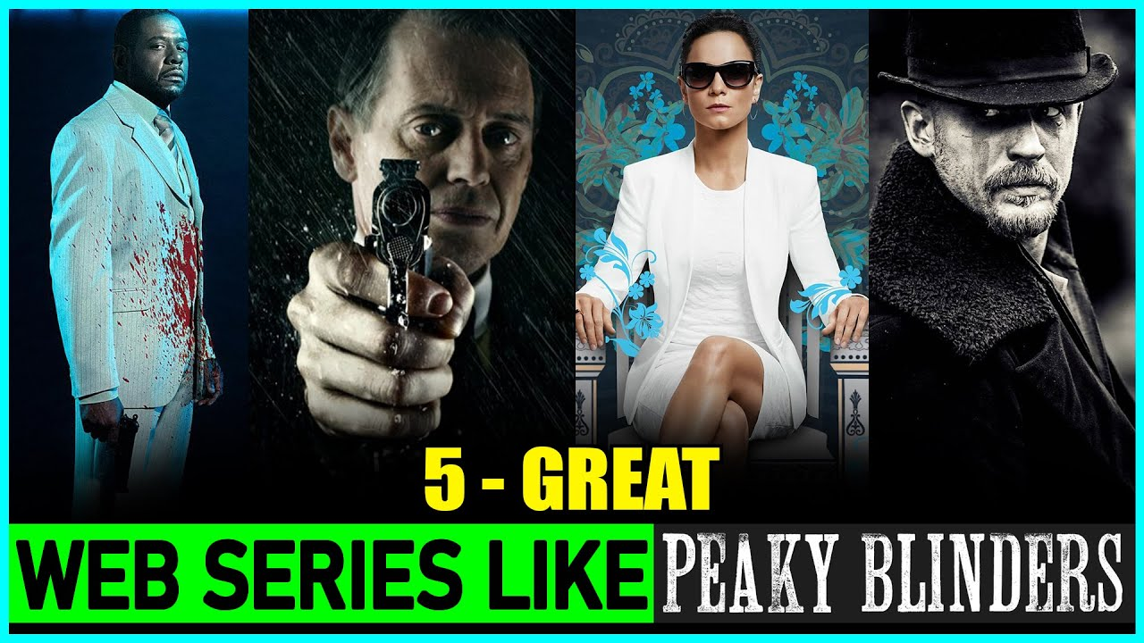 Top 5 Web Series Like PEAKY BLINDERS (Most Similar 🔥) | 5 Crime Thriller Shows Like Peaky Blinders