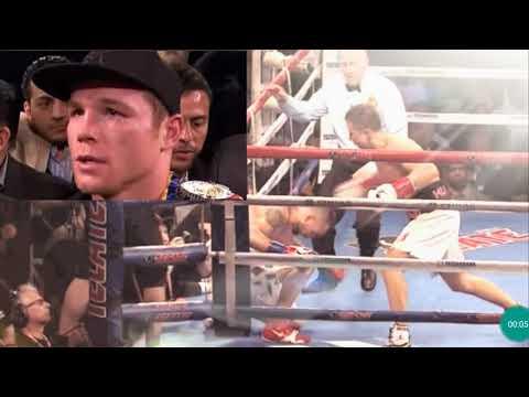 Oscar De La Hoya goes after Triple G....GGG CANELO must......