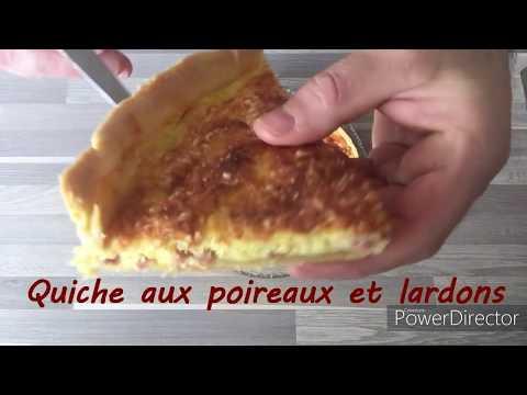 quiche-aux-poireaux-et-lardons---thermomix