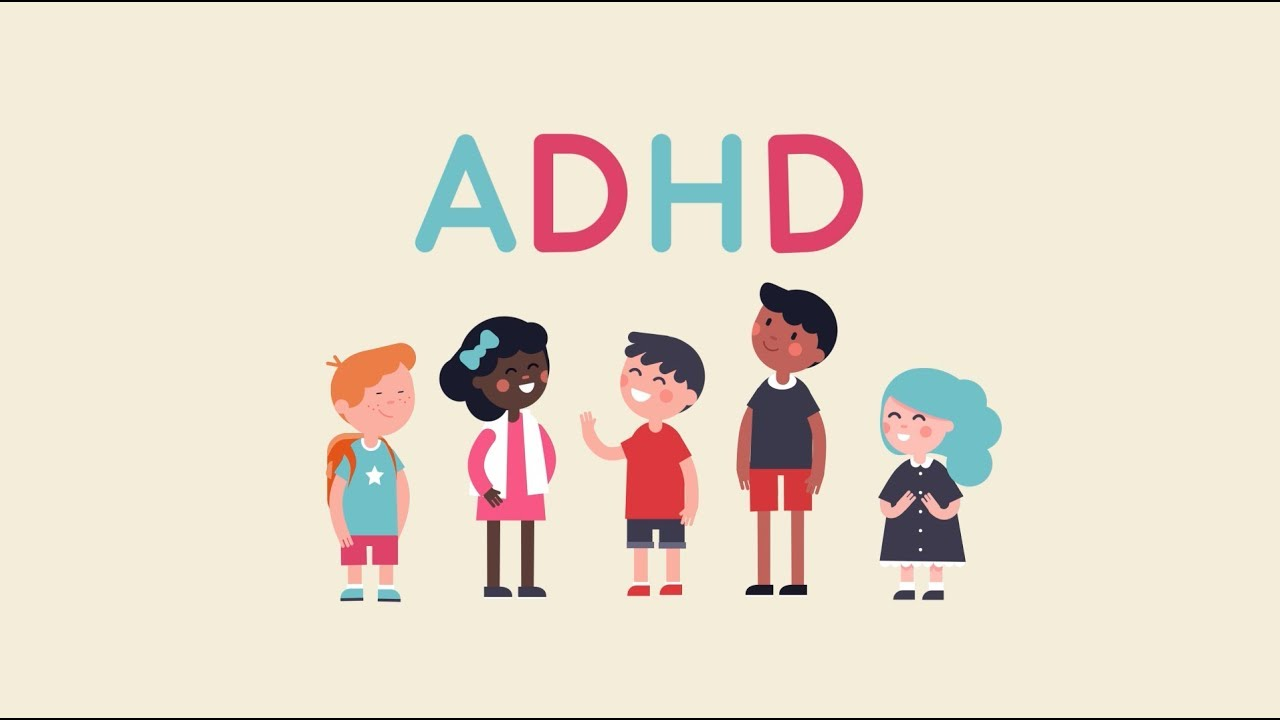 LET'S TALK ABOUT ADHD ANIMATION