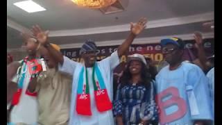 Jide Sanwo-Olu official declaration September 16th 2018