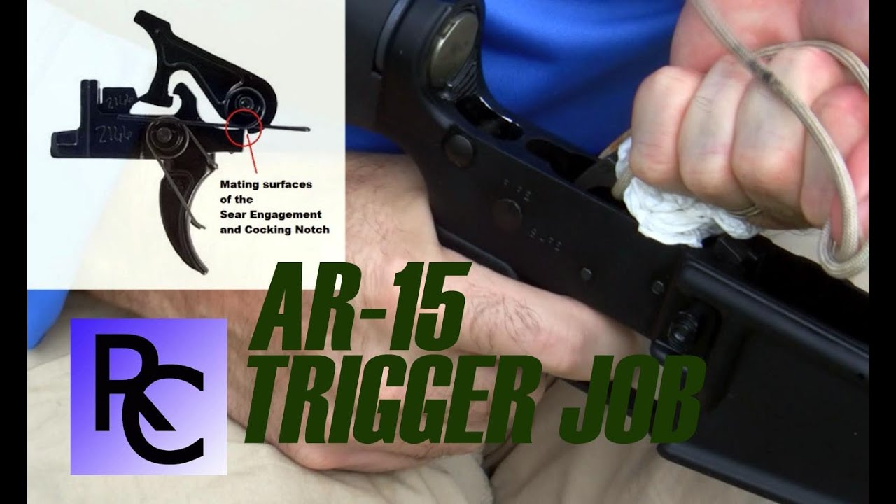 Image result for Paracord AR-15 Trigger Job