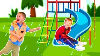 Rain Rain Go Away Song #2 | Mirik Yarik Nursery Rhymes & Kids Songs