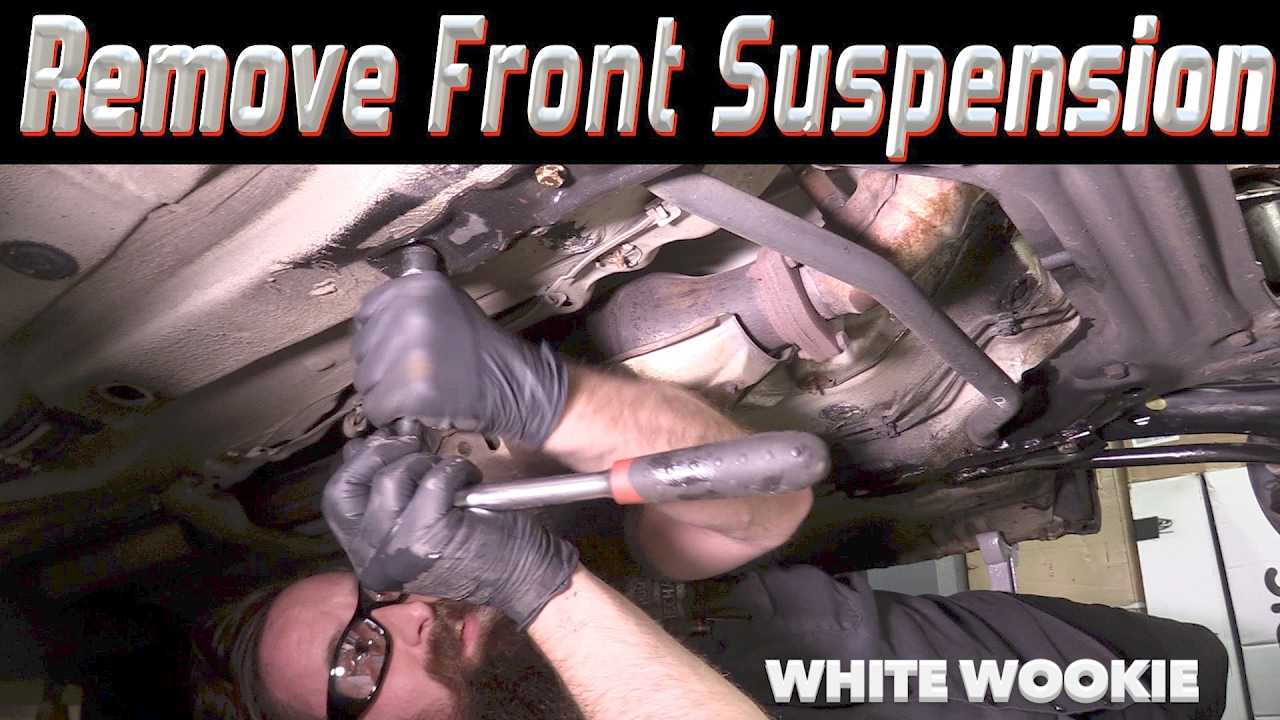 Removing The Front Suspension White Wookie Youtube Vr6 Engine Cylinder Number Diagram
