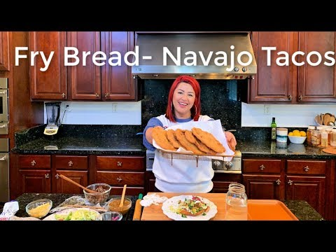 How to make Fry Bread - Navajo Tacos (Easy Steph By Steph)