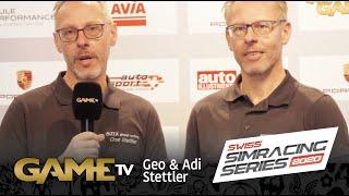 Game TV Schweiz - Geo & Adi Stettler | Teilnehmer | 1. Swiss Simmracing Series 2020 Qualifikation