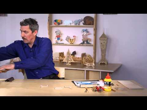 «Ручная работа». Игрушечная мебель из фанеры (28.05.2015)