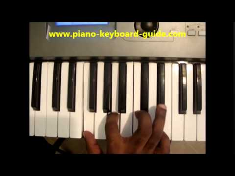 How To Play F7 Chord On Piano & Keyboard - YouTube
