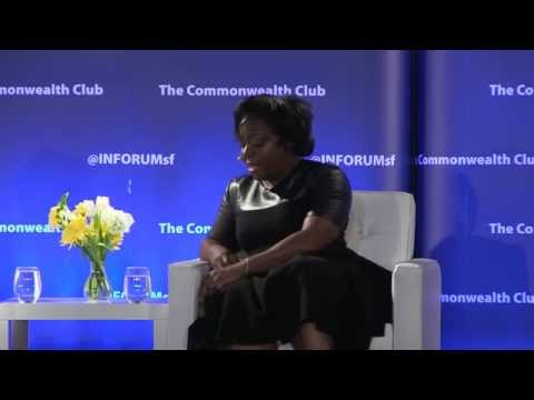 Sal Khan with Black Girls Code's Kimberly Bryant